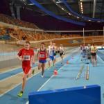 Tom tijdens de 800m
